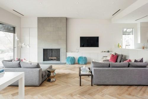 Camino e TV,il punto focale del soggiorno - Mobili Di ...