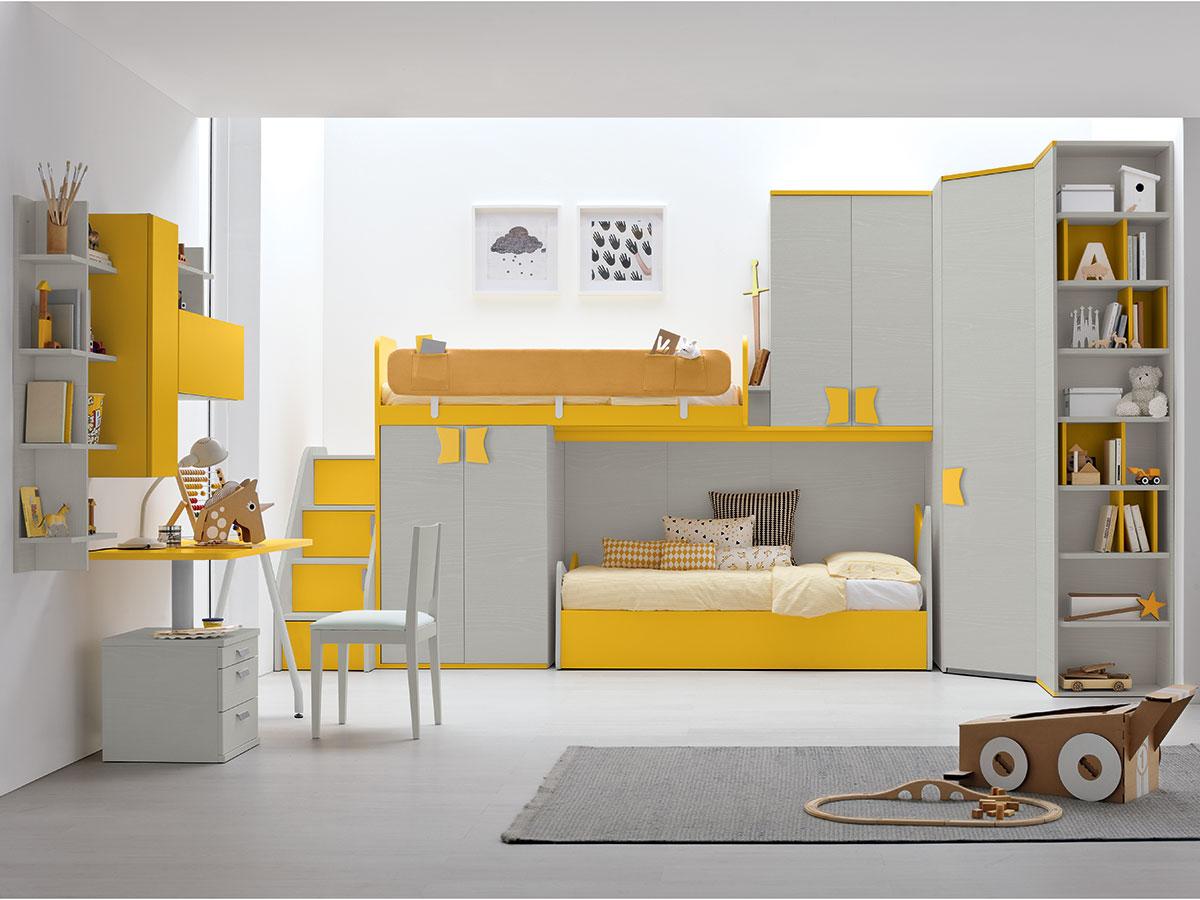 Camerette mobili di lillo scenografie d 39 interni - La cameretta ideale ...