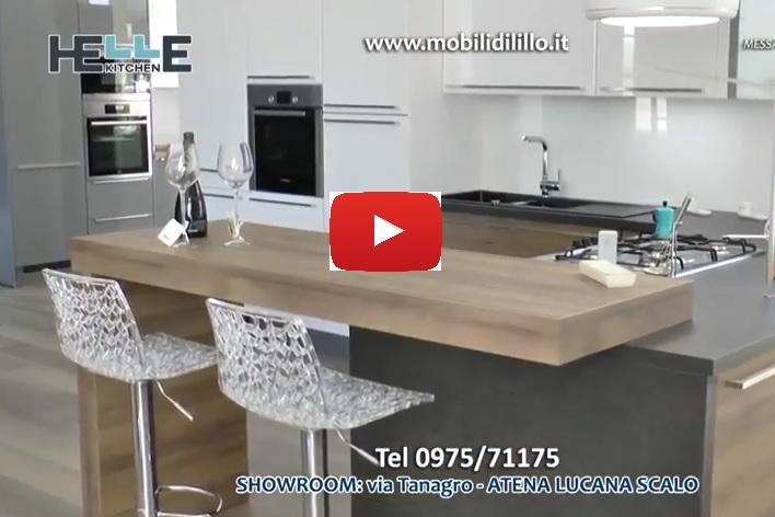 [Cucine da scoprire] Cucina Riviera con penisola e piano snack - Video