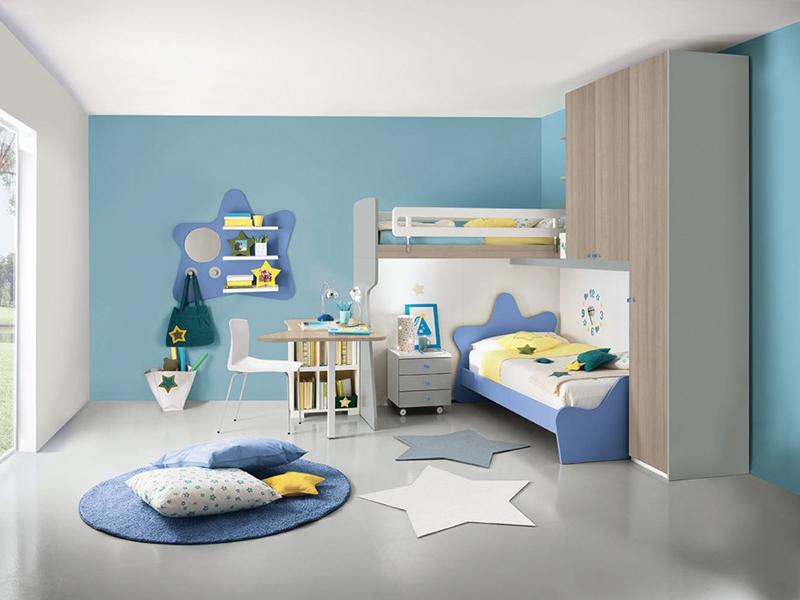 Camere Per Ragazzi 2 Letti : Camerette u mobili di lillo scenografie d interni