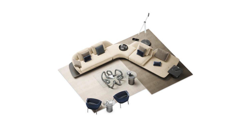 divano curvo mobili di lillo r1