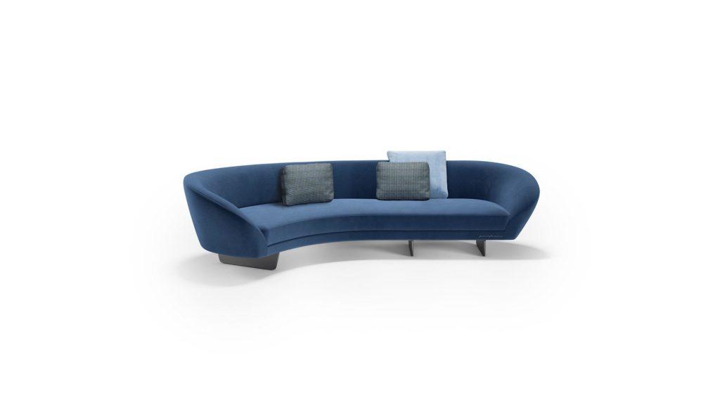 divano curvo mobili di lillo r2