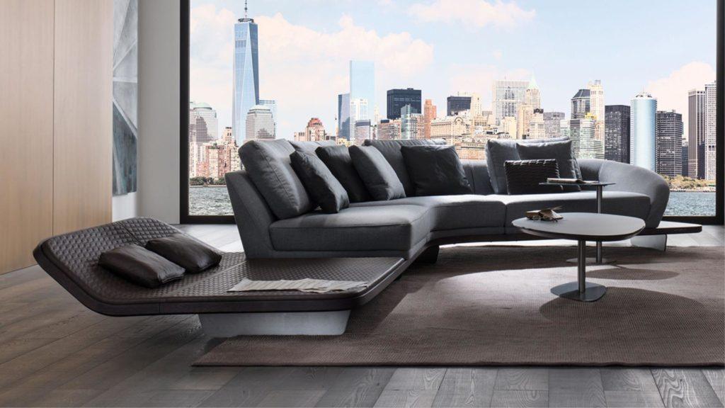 divano curvo mobili di lillo r4