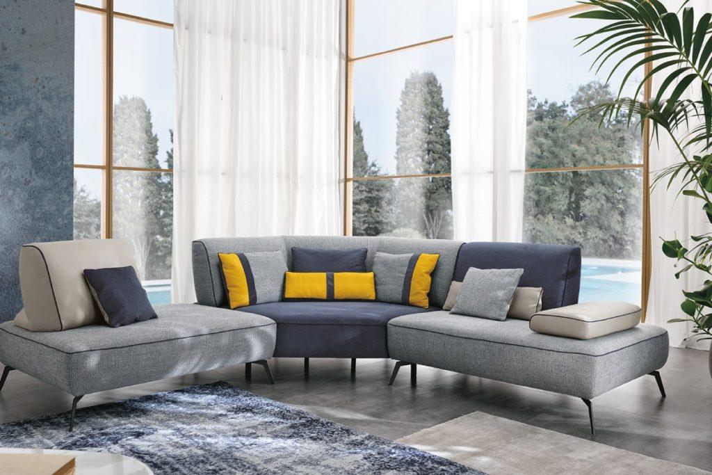 m10 divano curvo mobili di lillo