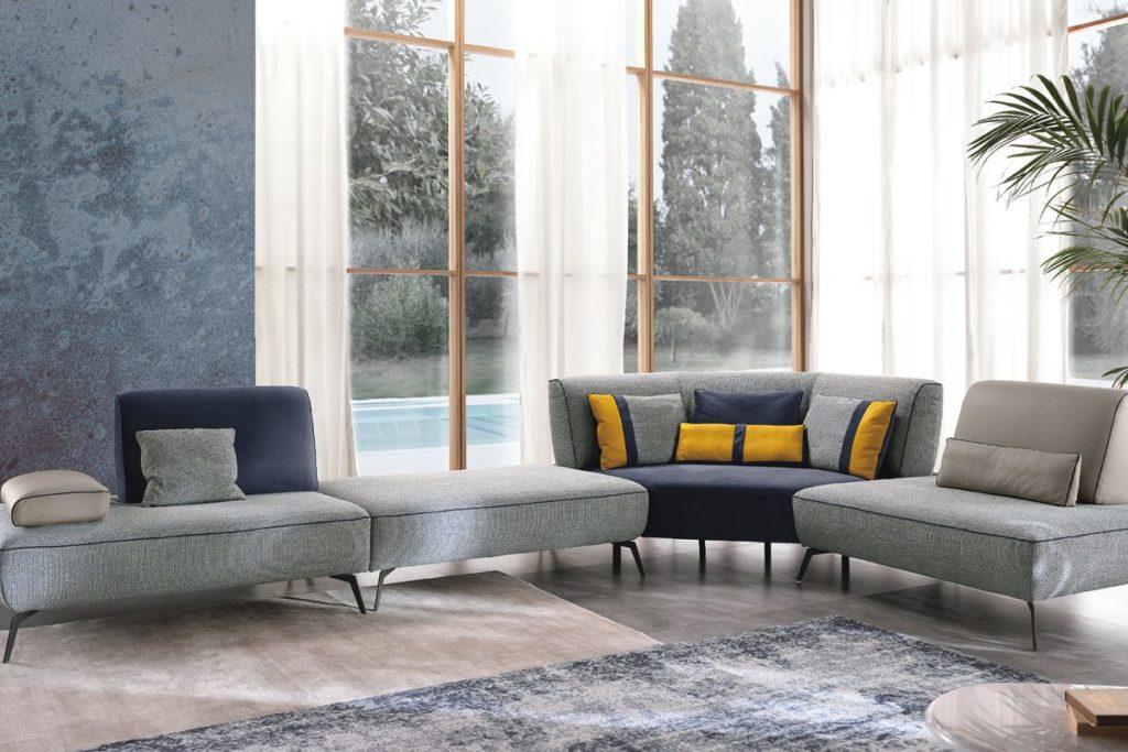 m12 divano curvo mobili di lillo modulare