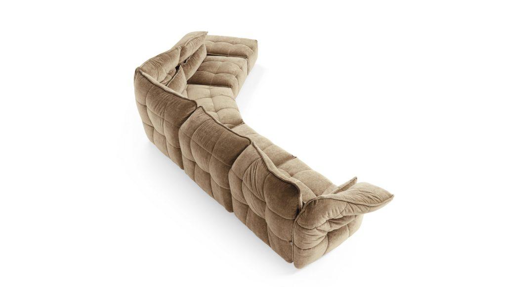 curvo modulare con recliner