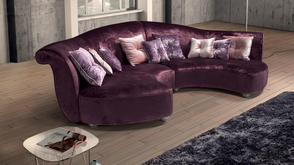 n1 divano curvo mobili di lillo classico