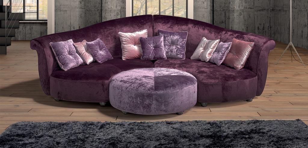n2 divano curvo mobili di lillo classico