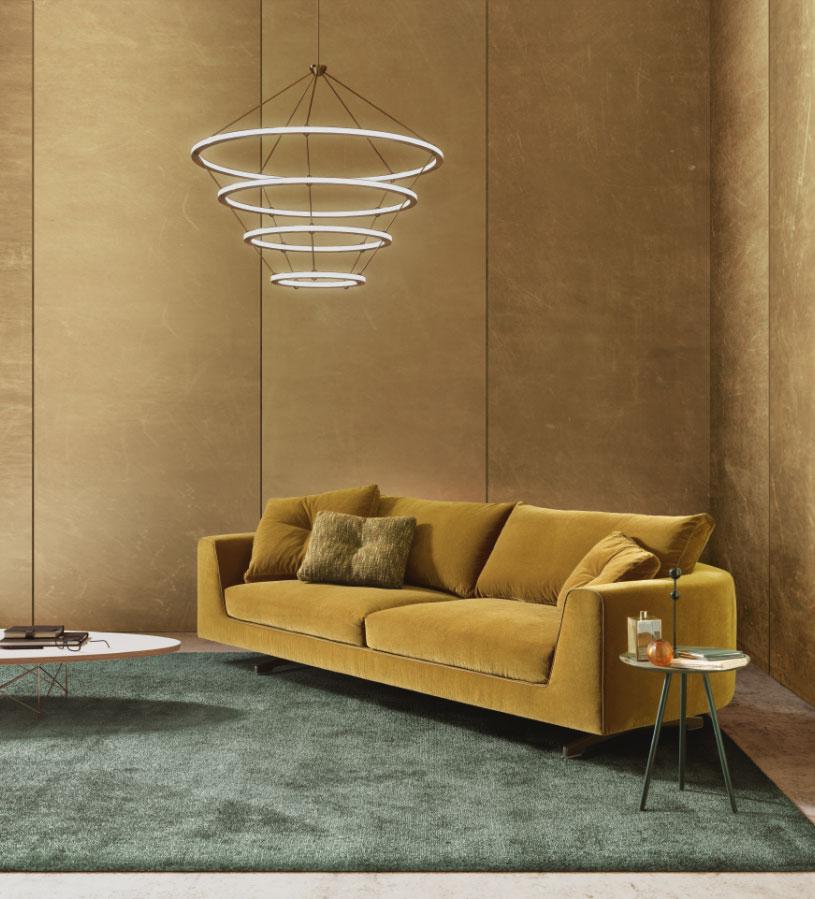 v2 divano curvo mobili di lillo