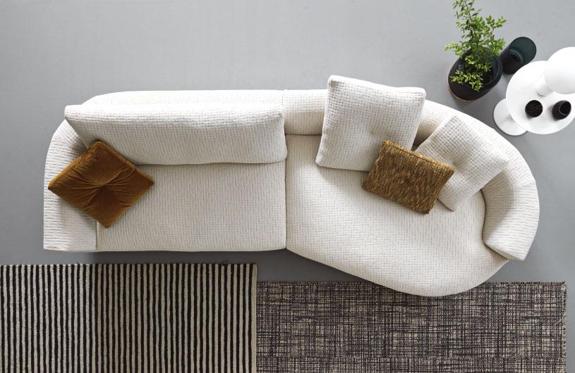 v6 divano curvo mobili di lillo
